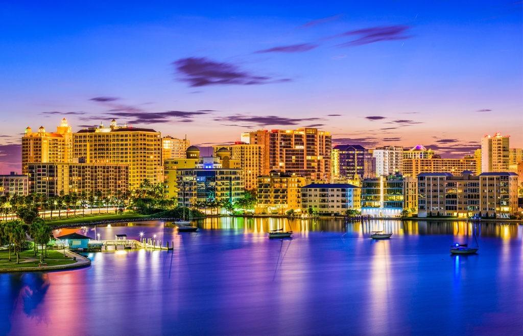 City Sunset View Sarasota