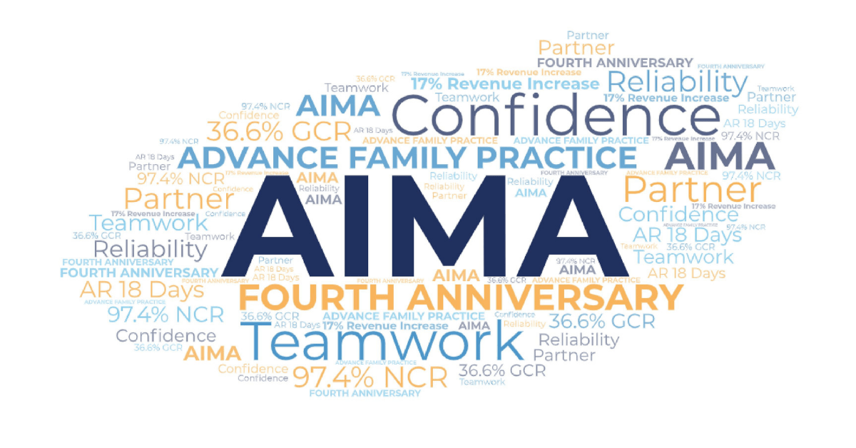 AIMA Advance Family Practice 4 year anniversary