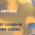 AIMA COVID-19 Vaccine Medical Codes Update