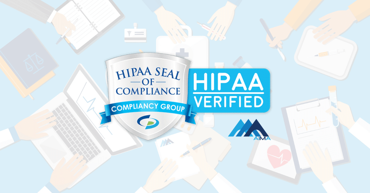 AIMA HIPAA Seal of Compliance RCM