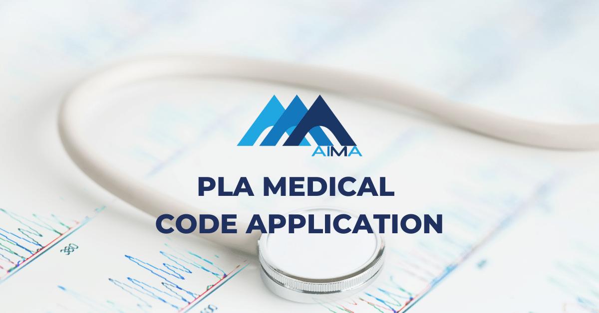 PLA medical code application case study AIMA laboratory application RCM medical coding